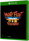 Mighty Fight Federation Xbox One Cover Art