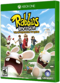 Rabbids Invasion: The Interactive TV Show Xbox One Cover Art