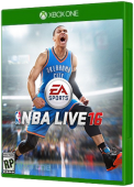 NBA Live 16 Xbox One Cover Art