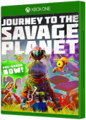Journey to the Savage Planet - Old Game Minus Xbox One Cover Art