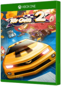 Super Toy Cars 2 Xbox One Cover Art
