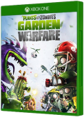 Plants vs Zombies: Garden Warfare Xbox One Cover Art