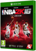 NBA 2K16 Xbox One Cover Art