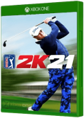 PGA Tour 2K21 video game, Xbox One, xone