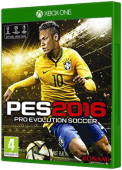 PES 2016 Xbox One Cover Art