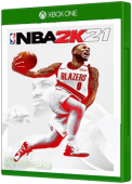 NBA 2K21 Xbox One Cover Art