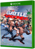 WWE 2K Battlegrounds Xbox One Cover Art