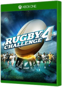 Rugby Challenge 4 Xbox One Cover Art