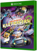 Nickelodeon Kart Racers 2 Xbox One Cover Art