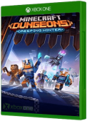 Minecraft Dungeons: Creeping Winter Xbox One Cover Art