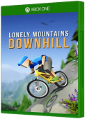 Lonely Mountains: Downhill - Eldfjall Island Xbox One Cover Art