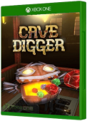 Cave Digger Xbox One Cover Art