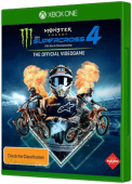 Monster Energy Supercross 4 Xbox One Cover Art