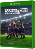 Football Manager 2021 Xbox One Cover Art