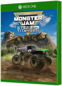 Monster Jam Steel Titans 2 Xbox One Cover Art