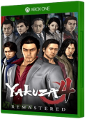 Yakuza 4 Remastered Xbox One Cover Art