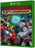 TRANSFORMERS: BATTLEGROUND - Shattered Spacebridge Xbox One Cover Art