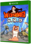 Worms W.M.D Xbox One Cover Art