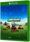 Lawn Mowing Simulator Xbox One Cover Art