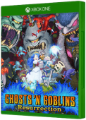 Ghosts 'n Goblins Resurrection Xbox One Cover Art