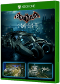 Batman: Arkham Knight 2008 Tumbler Batmobile Pack Xbox One Cover Art