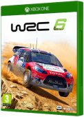 WRC 6 Xbox One Cover Art