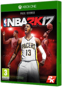 NBA 2K17 Xbox One Cover Art