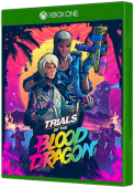 Trials of the Blood Dragon Xbox One Cover Art