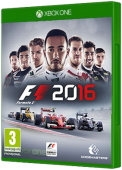 F1 2016 Xbox One Cover Art
