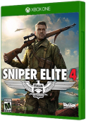 Sniper Elite 4 Xbox One Cover Art