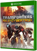 TRANSFORMERS: Fall of Cybertron Xbox One Cover Art