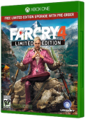 Far Cry 4 Xbox One Cover Art