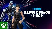 FORTNITE - Sarah Connor and the T-800 Trailer