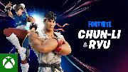 Fortnite - Street Fighter Chun-Li And RYU Trailer