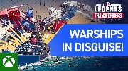 World of Warships: Legends | Transformers Warships in Disguise