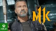 Mortal Kombat 11 (MK11) Kombat Pack: Official Terminator T800 Gameplay