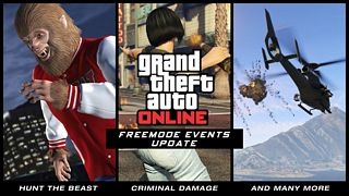 Grand Theft Auto Online - Freemode Events Trailer