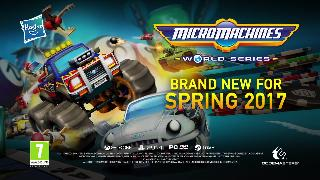 Micro Machines World Series - Official Announcement Trailer