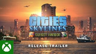 Cities Skylines | Sunset Harbor Release Trailer