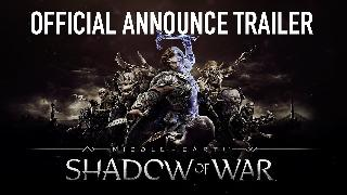 Middle-earth Shadow of War Announcement Trailer