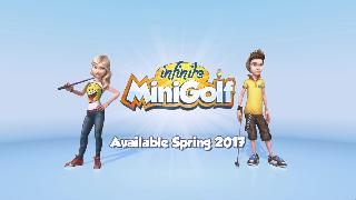 Infinite Minigolf - Console Announcement Trailer