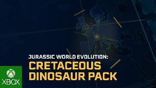 Jurassic World Evolution | Cretaceous Dinosaur Pack