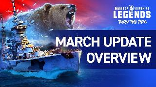 World of Warships: Legends | March 2020 Update Trailer