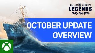 World of Warships Legends | October 2020 Update