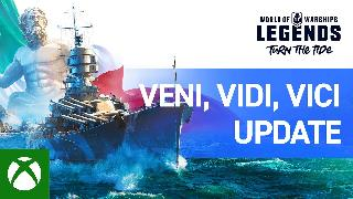 World of Warships: Legends | Veni, Vidi, Vici Update