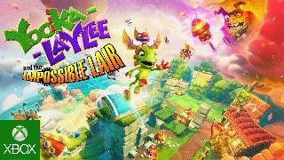 Yooka Kaylee and the Impossible Lair Announce Trailer