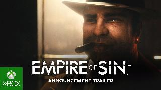 Empire Of Sin | Official Announcement Trailer
