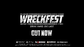 Wreckfest XBOX ONE & PS4 Console Release Trailer