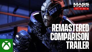 Mass Effect Legendary Edition | Remastered Comparison Trailer