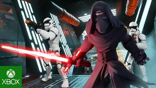 Star Wars The Force Awakens Play Set Disney Infinity 3.0 Trailer